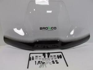 UNIVERSAL-CLEAR-ACRYLIC-ATV-WINDSHIELD-WITH-MOUNTING-HARDWARE