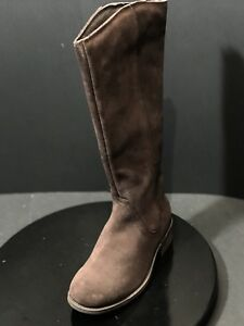 befce54122f Details about New UGG Australia Women's Seldon Brown Suede Boots Size US 6  M RTL $200