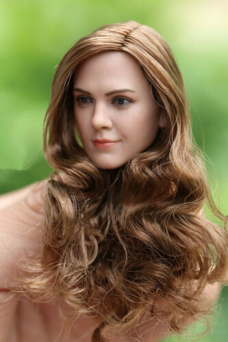 """1:6 Scale Hermione Emma Watson woman Head Model Toy For 12/"""" Female Figure Body"""