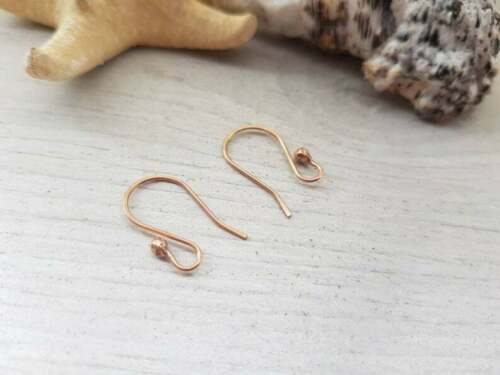 Solid Bronze Ball French Ear WiresHANDMADE TO ORDER5//10//20 PairsARA