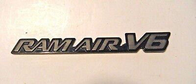 pontiac grand am gt ram air v6 emblem ebay ebay