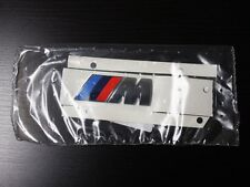 NEW ORIGINAL BMW M SPORT TRI COLOR EMBLEM LOGO BADGE GENUINE M-TECH OEM BMW PART