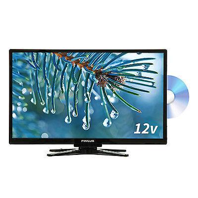 Finlux 22 Inch Full HD TV 12V Travel Plus Built In DVD Freeview  (22FBE274B-NCM)