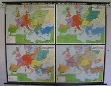 Scheda crocifissi Map formazione di scadenza dell'Impero 4,5mio 204x164c scheda Muro Carta