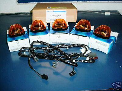 trucks teardrop roof kit style cab trailers marker lights clearance for product partsam amber universal light