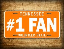 Tennessee License Plate BIG ORANGE VOLS TN Auto Tag Volunteers #1FAN Football !!