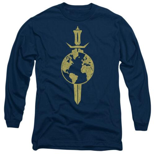 Star Trek TERRAN EMPIRE Logo Vintage Style Long Sleeve T-Shirt S-3XL