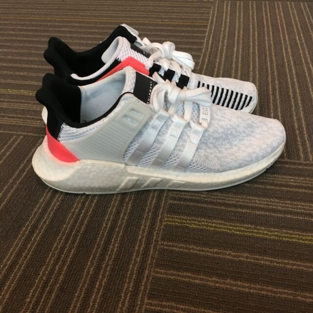 hot sales official photos special sales Adidas EQT Support 93/17 Boost White/Turbo Red/Black US Size 9 BA7473