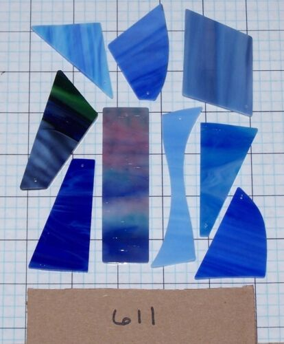Choose From 23 Sets BARGAIN DIY Stained Glass Wind Chime Glass Sets