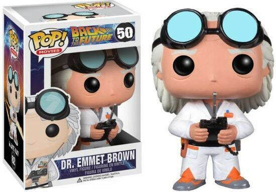 Back To The Future Dr. Emmett Brown Number 50 Funko Pop  Vinyl.