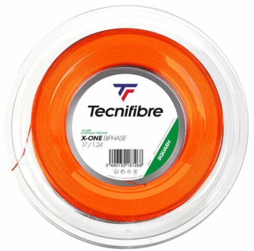 Tecnifibre X-One Biphase 17 1.24mm Squash String 200M Reel