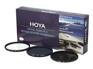 HOYA-Digital-Filter-Kit-II-37-49-52-55-58-62-67-72-77-82mm-UV-ND8-CPL