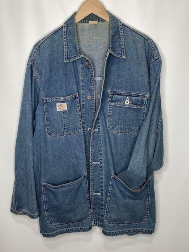 Vintage Men's GAP Denim Workwear Shirt Chore Jacke