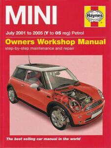 shop manual mini cooper service repair book haynes s chilton guide rh ebay com mini cooper 2015 owner manual Mini Cooper Clubman