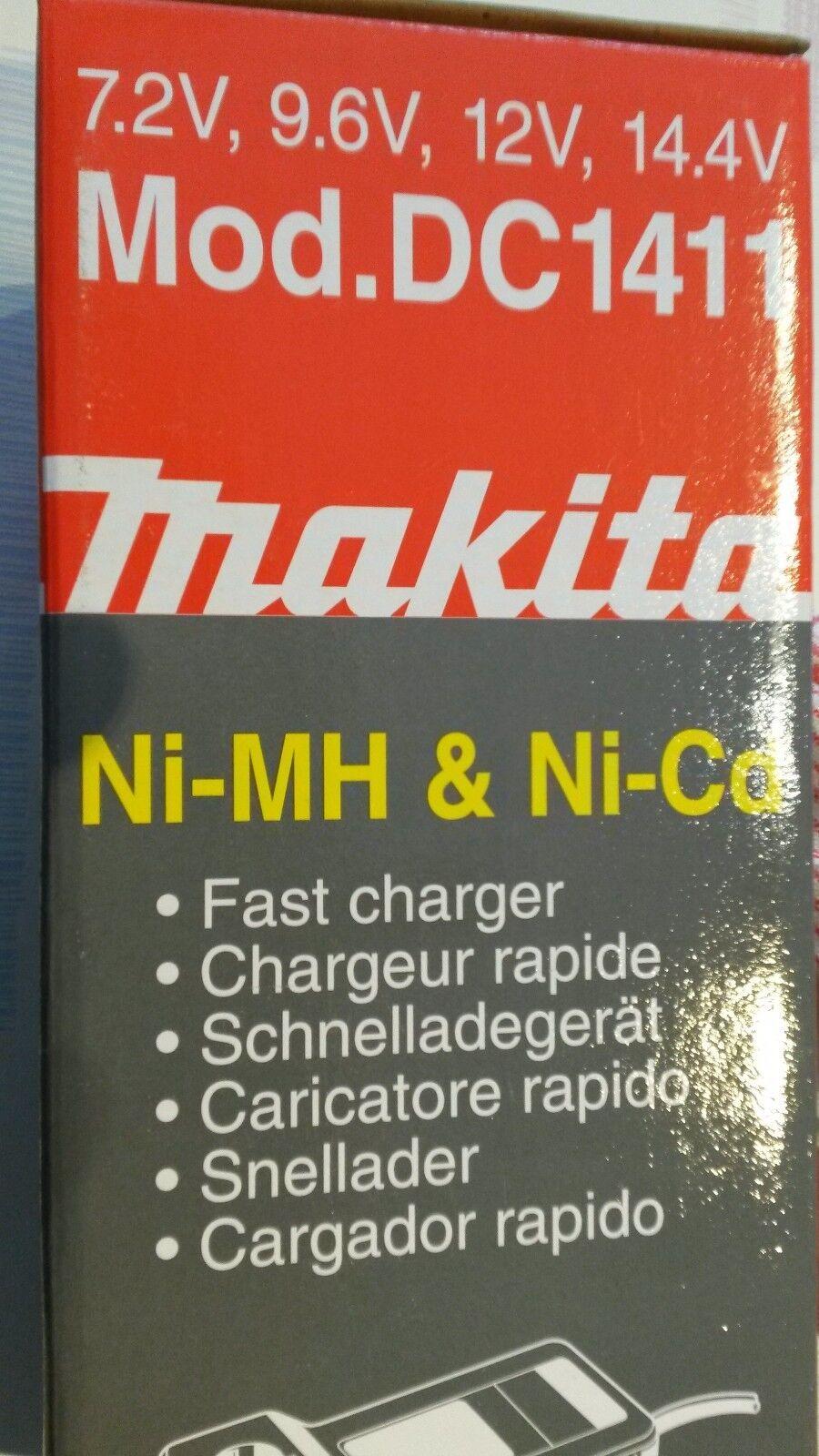 Akku-Ladegerät Makita DC 1411 für NiCd- und NiMH-Akkus