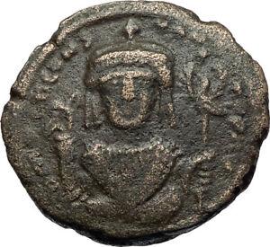 TIBERIUS-II-CONSTANTINE-Authentic-Ancient-578AD-Follis-Byzantine-Coin-i71149