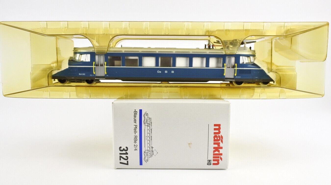 MARKLIN HO SCALE 3127 Oe BB RBe2 4 blueE ARROW ELECTRIC ENGINE A C
