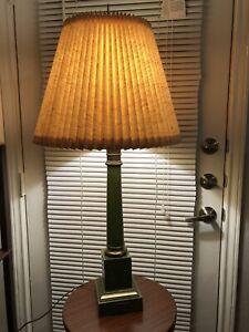 Antique French Tole Brass Column Lamp Lampe A Moderateur Par Brevet D Invention Ebay