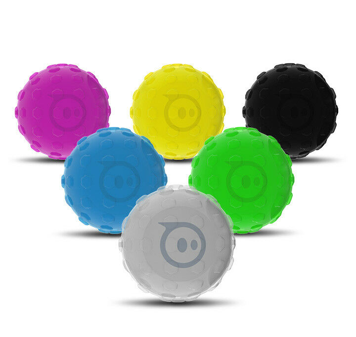 6x Sphero Nubby Covers SPRK SPRK+ Robotic Ball Protective Case Set of 6 Hexnub