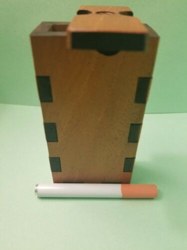 AMERICAN FLAG /& EAGLE dugout BOX ONEHITTER STASH BOX,MEDICINAL ENGRAVED,PIPE