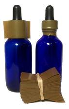 Gold 45x23 Heat Shrink Neck Wrap Band Liquid Bottle Tamper Seal 250 Pack