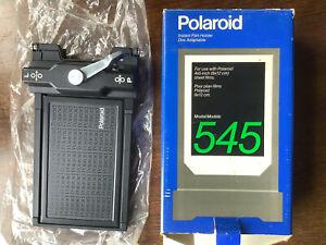 "Polaroid 545 Planfilmkassette 4x5"" / 9x12cm"