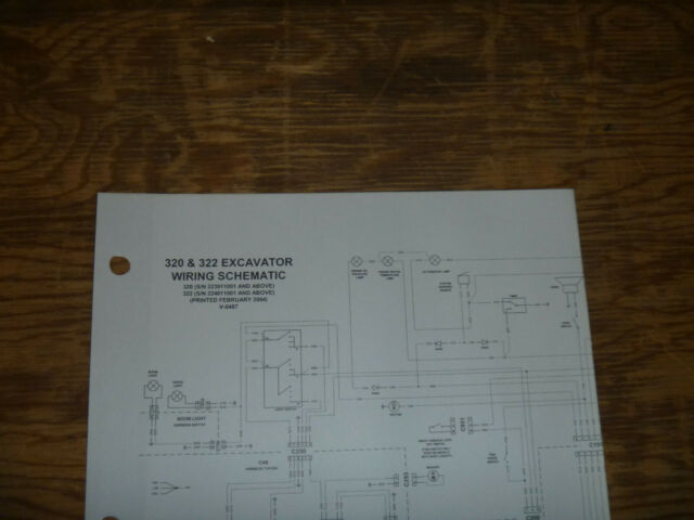 Bobcat 320 322 Excavator Electrical Wiring Diagram