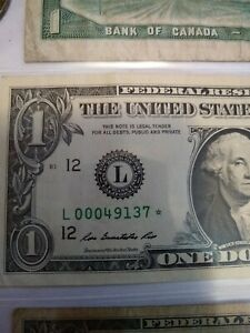 us currency star notes, Silver Certificate, Coins All one Lot