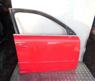 Audi A4 B7 2004-2008 Passenger Side Wing N//S Right Painted BRILLIANT RED LY3J