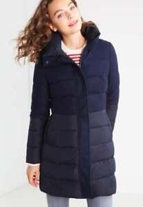 Schnäppchen für Mode attraktive Designs Shop für Beamte Details zu Spoom Zahra Daunenmantel Gr. S Blau 36 Damen Jacke Daune Parka  Neu A6476