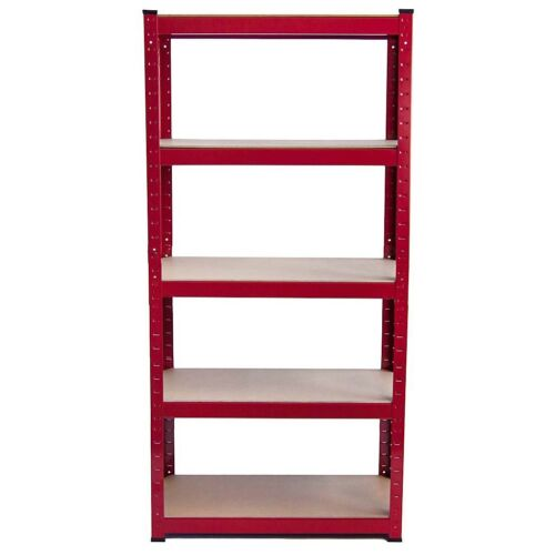 Metal Racking Shelving Bays 5Tier Freestand Garage Heavy Duty Storage Rack Units