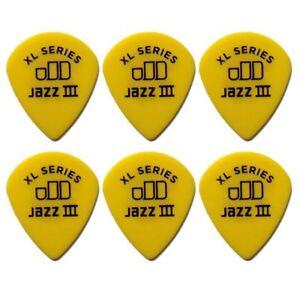 Dunlop 498R Tortex Jazz III XL 12 Pack