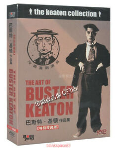 The-Art-of-Buster-Keaton-Collection-30-Movie-11-DVD-Box-Set-NEW-amp-SEALED-NEW