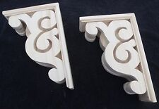 "Victorian Gingerbread Wood Corbel {12"" x 8 1/2"" } Bracket #3 ~ PAIR ~ by  PLD"