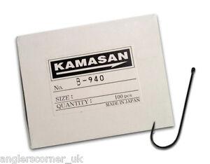 KAMASAN-B940-ABERDEEN-CLASSIC-BULK-PACK-Qty-100-FISHING-HOOKS