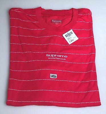 Supreme Long Sleeve Logo Stripe Ls Top