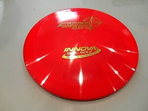 INNOVA-STAR-APE-DISC-GOLF-DRIVER-RED-GOLD-FOIL-175G-LSDiscs
