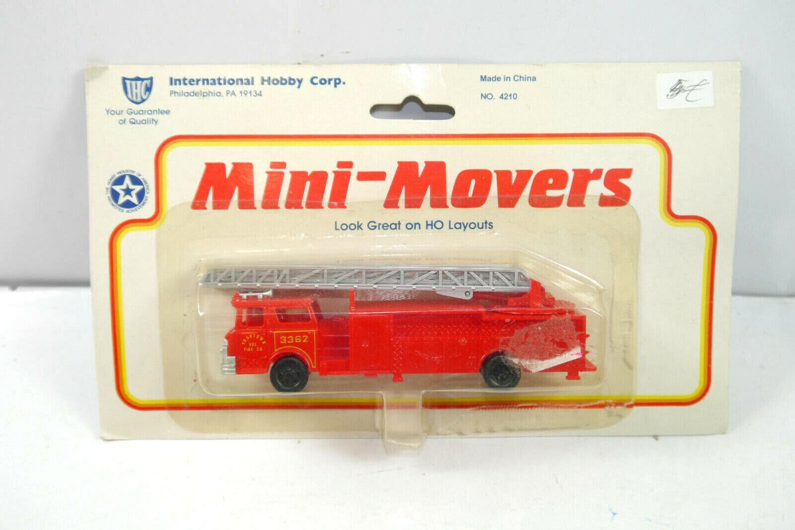 Ihc 4210 Mini-Movers Yourtown Pompier Maquette de Voiture 12,5cm Neuf (K42)  A