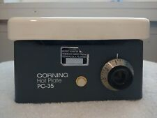 Corning Glass Works Pc 35 Laboratory Ceramic Hot Plate Tested Works