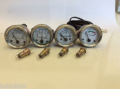 Allis Chalmers WD45, D15,D17, D19 Temp,Oil, Amp, Fuel gauge, ships from USA