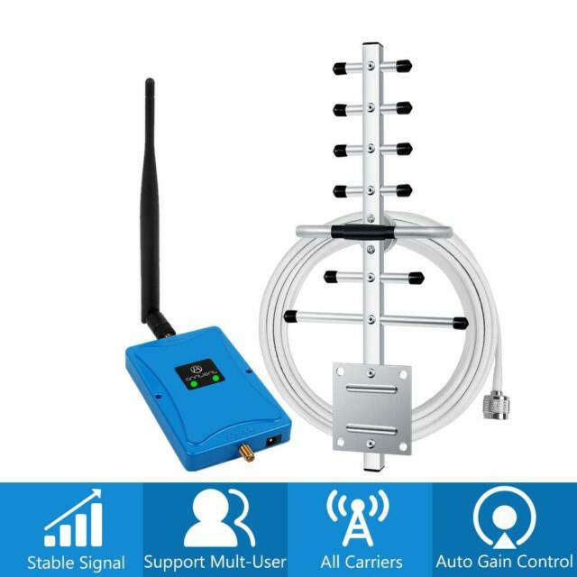3G 4G LTE 850/1800MHz 70dB Booster Band 5/3 Mobile Repeater Signal Amplifier Kit