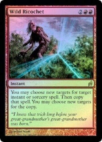 Lorwyn  MTG  Foil  Wild Ricochet   Magic