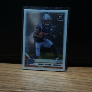 2019 N'keal Harry Rookie Card Panini Optic Rated RC New England Patriots #169