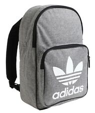 c4877d04bb adidas Classic Casual Backpack Bags Sports Gray School Gym Running Bag  D98923