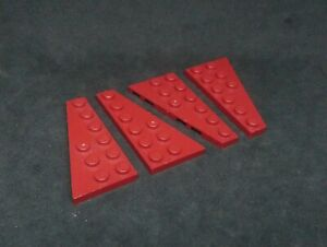 LEGO 3x6 wedge wing plate x 2 pairs Part 54383 54384 choose your colour!