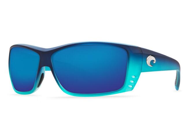 7a9d505e73b NEW Costa Del Mar CAT CAY Matte Caribbean Fade   580 Blue Mirror Plastic  580P