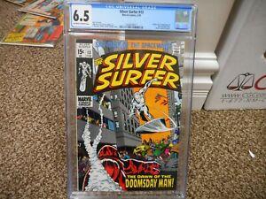 Plata-Surfer-13-Cgc-6-5-Marvel-1970-1st-Figura-de-Doomsday-Hombre-Origen-Ow