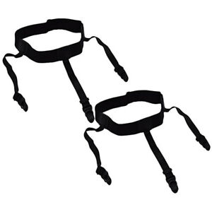 Par-De-Tirantes-Traje-Tirantes-Camisa-permanece-Liga-Cinturon-Elastico-arropada-en-Reino-Unido