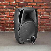 Loud Bluetooth Speaker 1500w Black Portable Usb Rca Fm Remote Control Party Fun