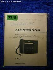 Sony Bedienungsanleitung IT F20 Komforttelefon (#3315)